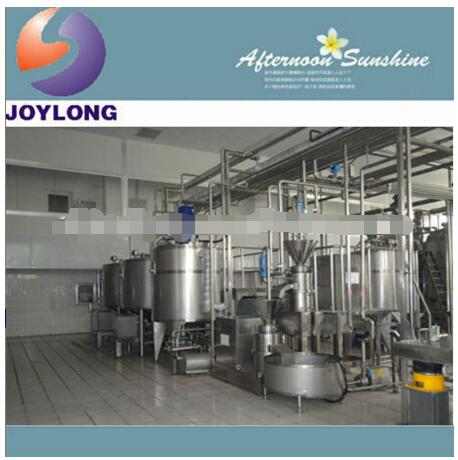 Complete juice production machinery
