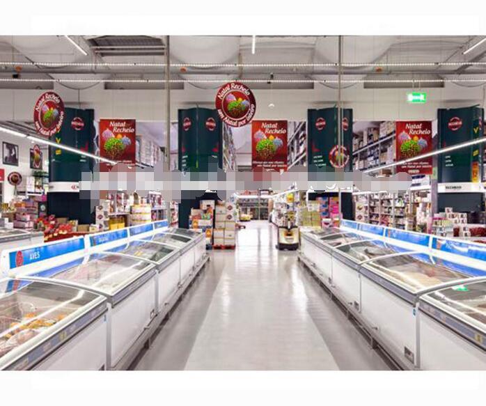 AHT comercial chest freezer for supermarket&convenience store