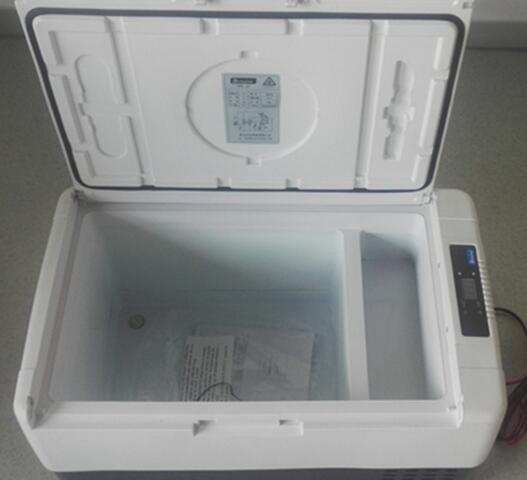 30 L portable car refrigerator cold drink refrigerator car freezer
