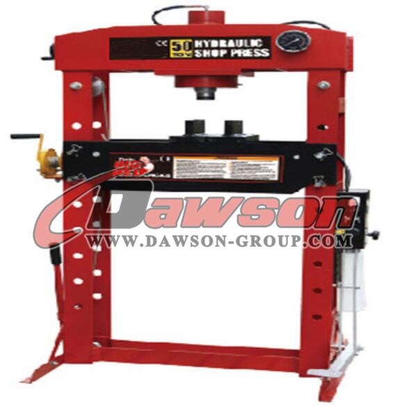 TY50030 Series Good Quality Dawson 50ton Hydraulic Shop Press