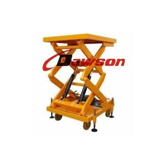 TRE8220 Series DAWSON 1000LBS Handle Heavy Table Lift Carts