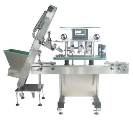 TP-YGXG Shanghai TOPS ss304 medicine bottle capping machine