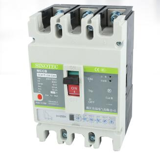 SCM1E Series 3 Poles Electronic Molded Case Circuit Breaker