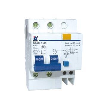 DZ47LE-63 Series l7 dc mcb direct current mini circuit breaker