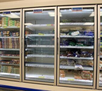 supermarket freezer showcase OEM factory in China