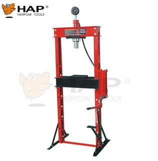 CE approval large working range foot pump 20T hydralic shop press