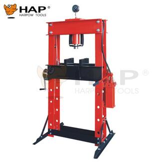 CE approved 50T shop press with gauge hydraulic workshop press