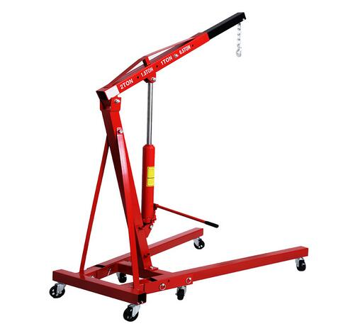 hydraulic jack 2T mobile crane vehicle equipment shop crane