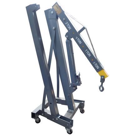 10KN-80KN Professional Quality 2 TON Foldable Engine Shop Crane