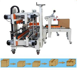 FXS5050 Series 220V 1kw automatic carton edge sealer machine