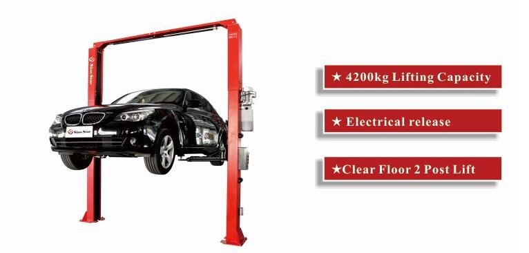 Easily Operated And Cheap Two Post Car Lift