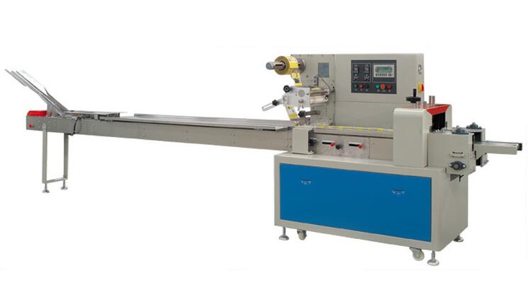 Nitrogen Fill Seal Automatic Pillow Packing Machine For Cookie