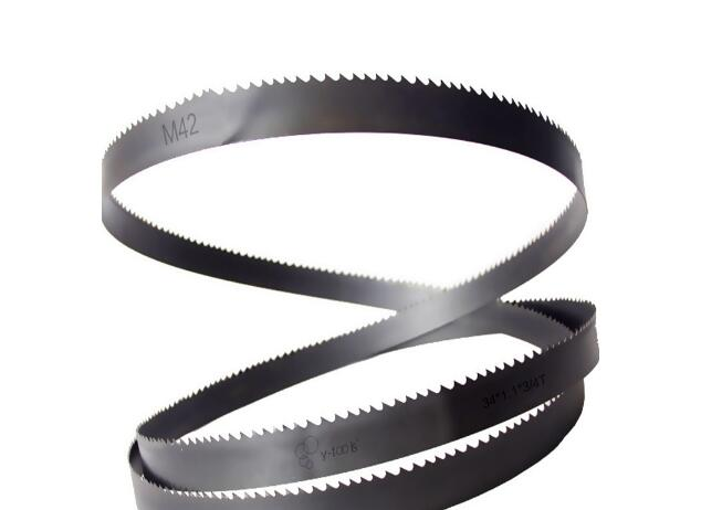 M42 band saw blades for cutting metal