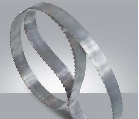 High efficiency metal cutting band saw blade