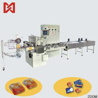 High efficiency good quality chocolate packaging machinery
