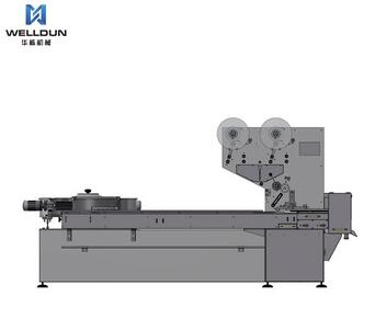 High speed pillow automatic pouch packing machine for candy packing