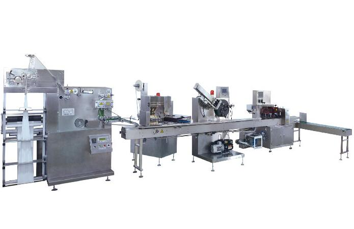 NP400 disposable plastic spoon fork knife flow wrapping machine