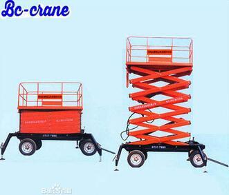 Hot Sale 2000kg 2.2kw hydraulic engine hoist scissor lift table