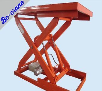 Hot sale High Quality 660-1500kg Customized hydraulic lift machine