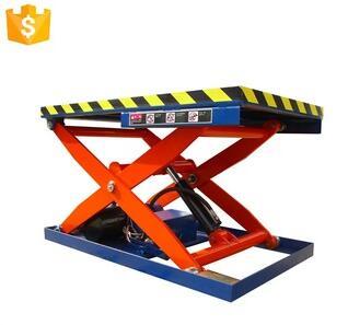 CE/ISO9001 1.5-4kw 10M 500kg Hydraulic scissor lifting platform