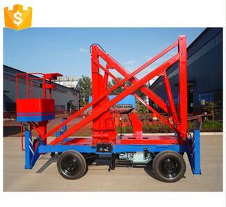 Customized 20m Lifting Electric Manual Scissor Lift Platform
