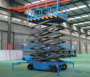China Fully Automatic Aerial Work Scissor Platform Lift For Sale