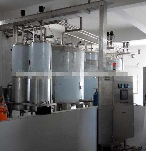 Small scale combined milk/yoghurt/juice production line