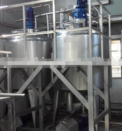 3000 LPD milk yoghurt cheese processing unit