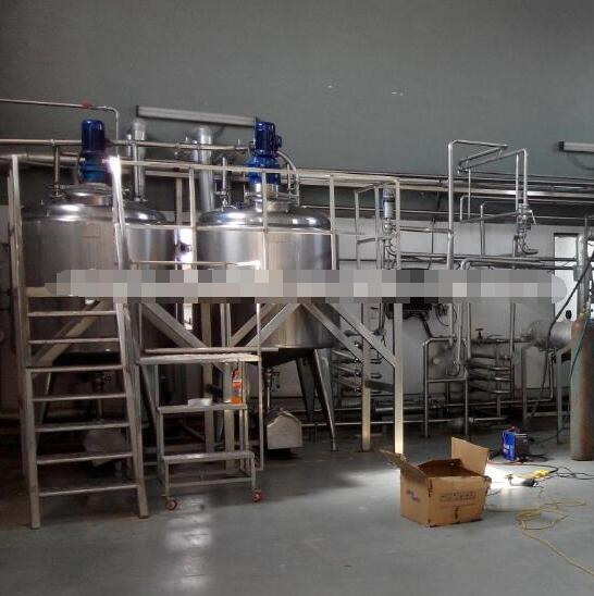 Small scale yogurt milk production line price/3000 LPD milk yoghurt cheese processing unit cost