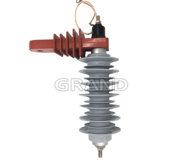 Grand Wholesale 10KV High Voltage Lightning Thunder Surge Arrester