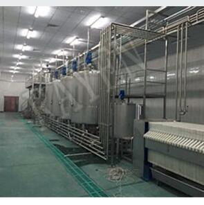 Food grade stainless steel ice cream production line machine ice production line