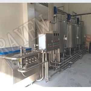 SUS304 or 316L stainless steel process of milk production milk processing plant dairy