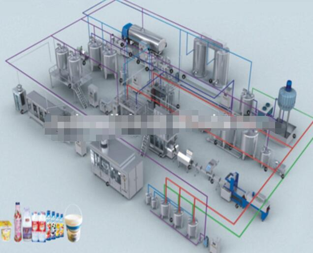 pasteurized milk production machinery