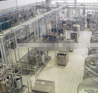 milk dairy processing production line