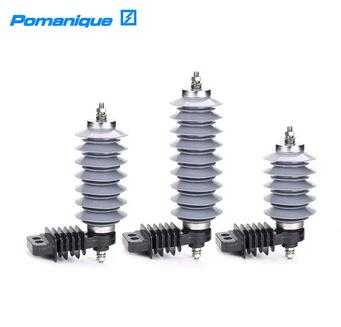 Distribution Type Gapless Surge Arrester with Polymer Housing