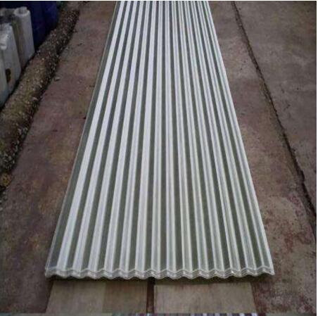 Corrugated galvanized steel roofing sheets
