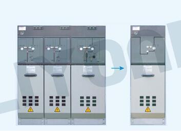 LYC3K Series 12kV RMU SF6 insulated ring main unit switchgear
