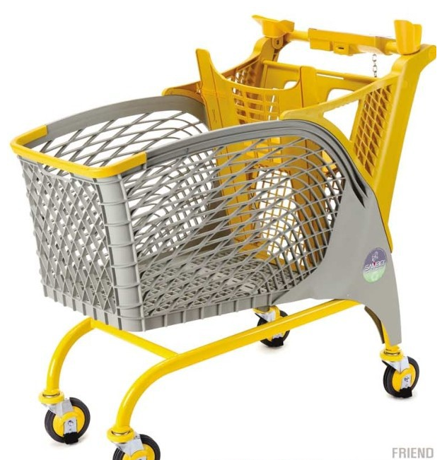 RH-SLC003 180L 1095*562*1042mm 2015 new design plastic shopping cart