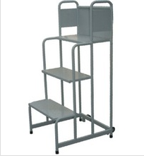 RH-LT04 Movable Step Cart Warehouse Ladder Trolley