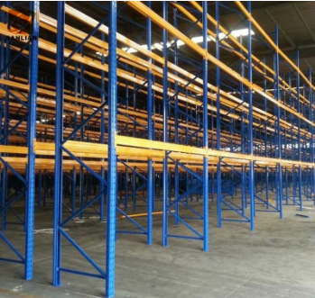 Industrial Warehouse Storage Steel Teardrop Beam Heavy Duty Pallet Shelving