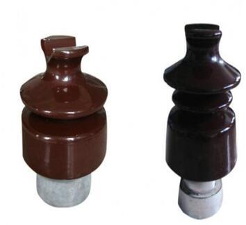 High voltage electrical ceramic porcelain 33kv post insulator