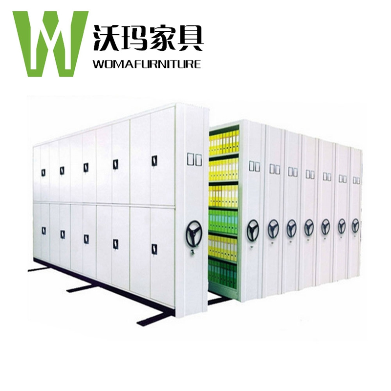 Factory Folding File storage Moving Compact Mobile Shelving