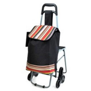 RH-FT06 Folding Shopping Bag Trolley Shopping Bag With Chair
