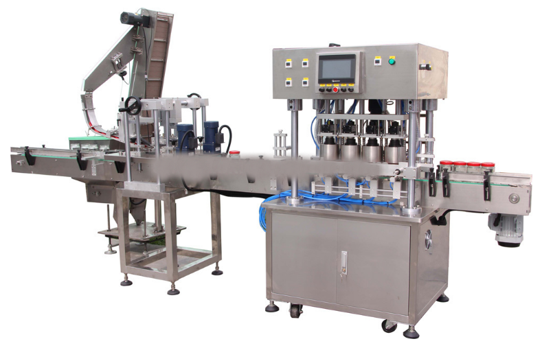 automatic glass jar vacuum capping machine Shanghai