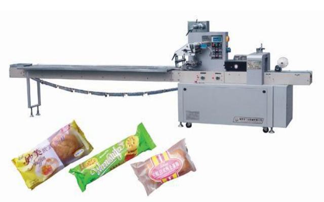 automatic cake wrapping machine
