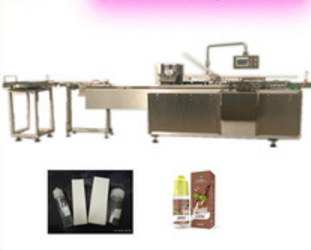 Shanghai factory Automatic tooth paste soap body hand skin cream tube eliquid bottles carton box folding packing machine