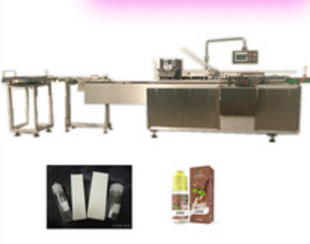 Automatic cardboard Carton Box folding packing Machine for chubby gorilla 60ml 100ml 120ml e-liquid e-juice e cigarette bottle