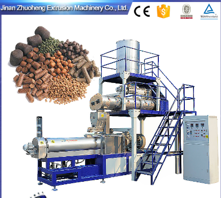 floating fish feed production/processing line
