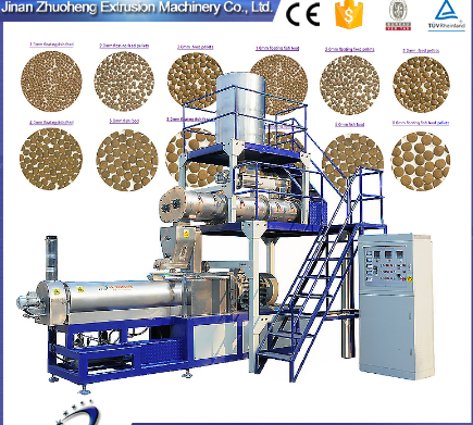 fully automatic fish food production line