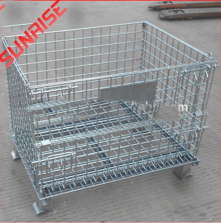 with PP,PVC board wire mesh cage
